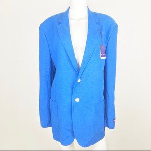 Alan Flusser Mens Large Classic Blazer Career Work